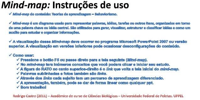 Aula Behaviorismo - FPE