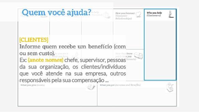 De que novas maneiras você pode promover a avaliação? (mídias sociais, apresentação online, site, etc) Você está se comuni...