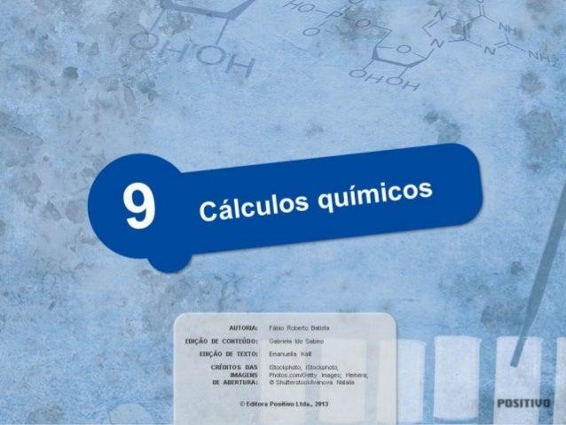 Cálculo da massa molecular @QUI907  Para visualizar este conteúdo digital, é preciso ter instalado o plugin Slides de Aula...