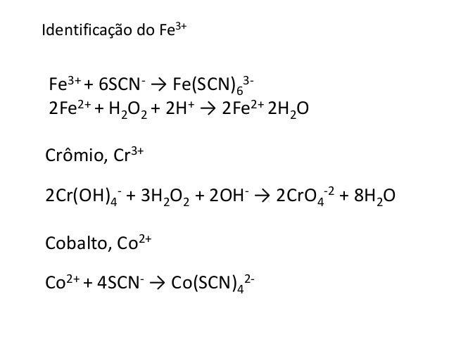 Níquel, Ni2+  Reação com dimetilglioxima