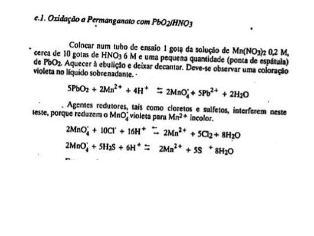 Cátions do grupo IV  Hg2+, Pb2+, Bi3+, Cu2+, Cd2+, As3+, As5+, Sb3+,  Sb5+, Sn2+ e Sn4+.  Os cátions de metais do grupo IV...