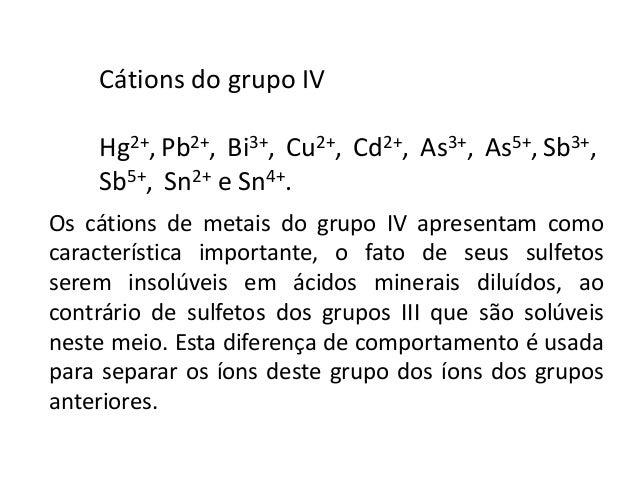Dissolução de sulfetos  Conforme já visto anteriormente, um alta concentração de H+ diminui  a concentração de íons S2-. E...