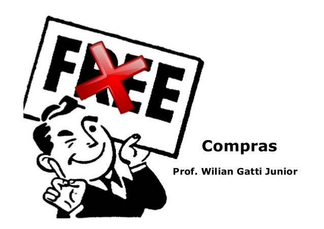 Compras Prof. Wilian Gatti Junior