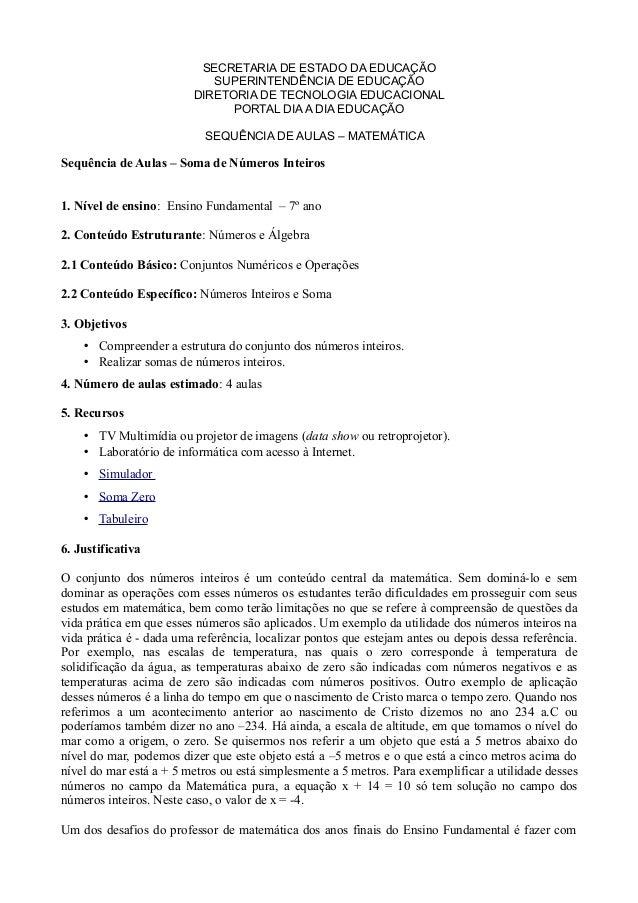 SECRETARIA DE ESTADO DA EDUCAÇÃO SUPERINTENDÊNCIA DE EDUCAÇÃO DIRETORIA DE TECNOLOGIA EDUCACIONAL PORTAL DIA A DIA EDUCAÇÃ...