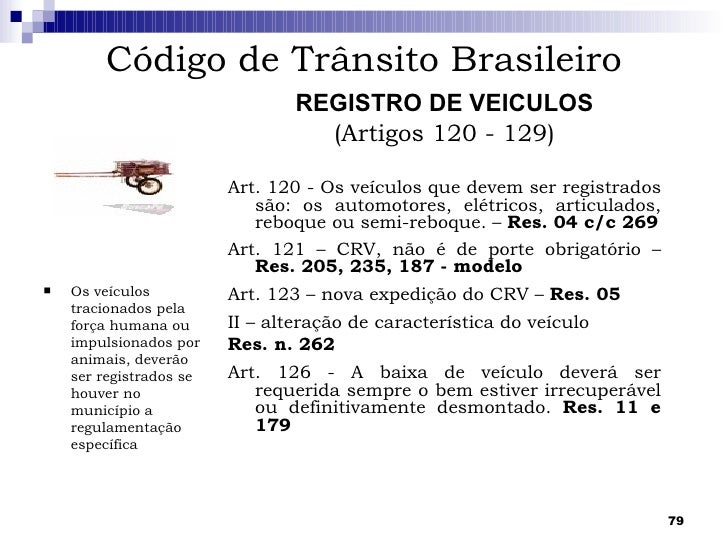 Artigo 269 ctb