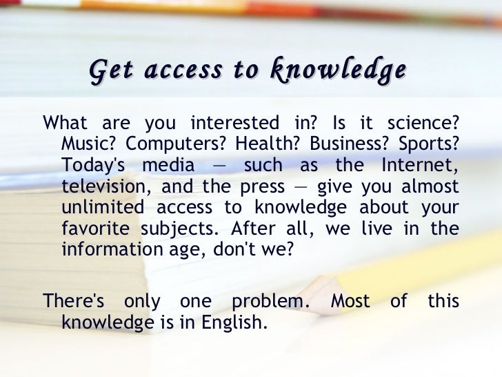 why it is important to learn english language English language is one of the most important in the field of education in most of  the countries, learning english encourages as a second.