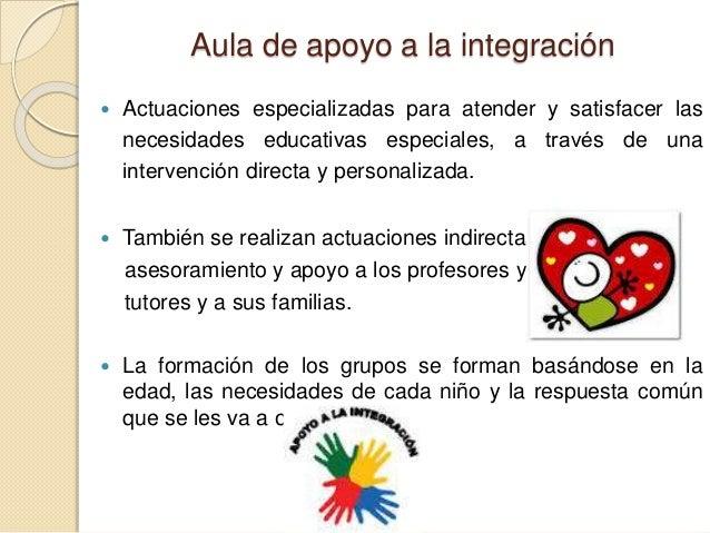 Aula de apoyo a la integración Slide 2