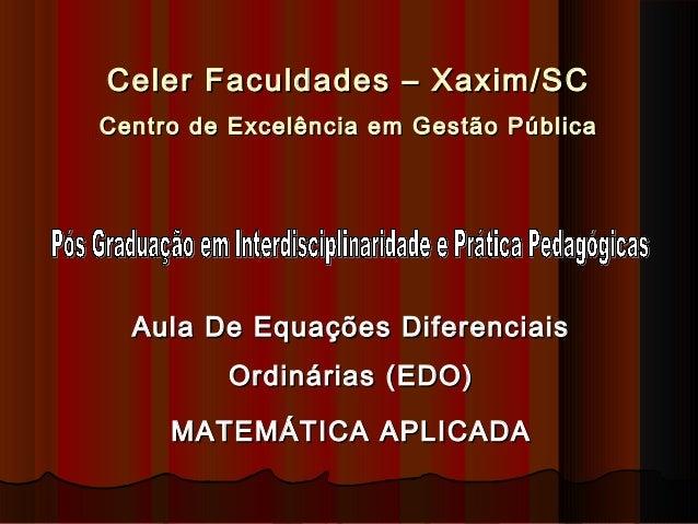 Celer Faculdades – Xaxim/SCCeler Faculdades – Xaxim/SC Centro de Excelência em Gestão PúblicaCentro de Excelência em Gestã...