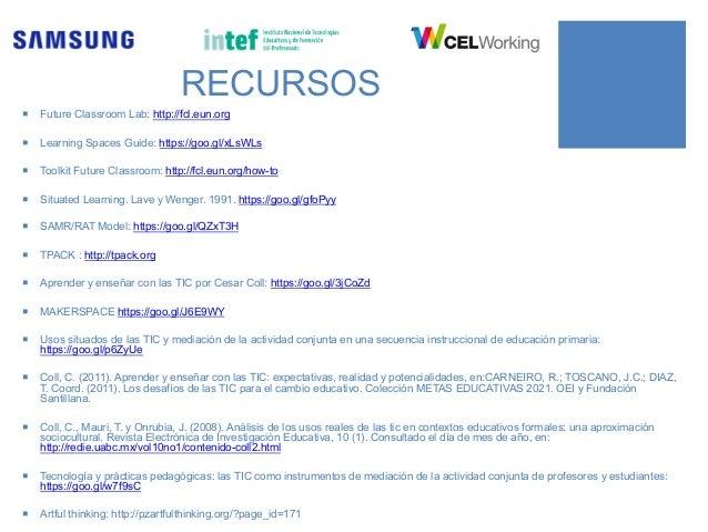 AULA DEL FUTURO AULA DEL FUTURO Samsung-INTEF @ A G O R A A B I E R TA Clara Cordero