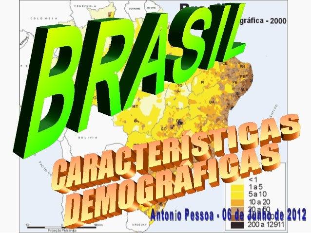 CONTEÚDO DA AULA (06/06) CARACTERÍSTICAS DEMOGRÁFICAS • Exemplo de 1 km² em AraraquaraExemplo de 1 km² em Araraquara • Car...