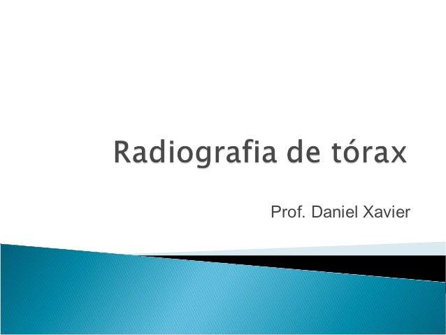 Prof. Daniel Xavier