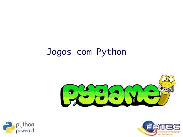 Jogos com Python