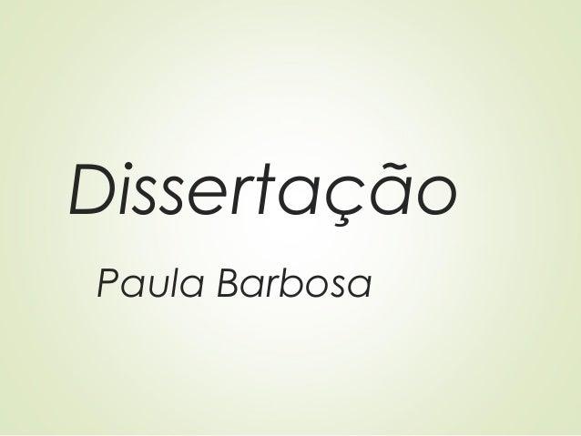 Dissertação Paula Barbosa