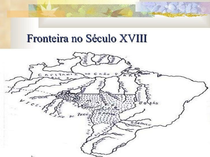 Fronteira no Século XVIII