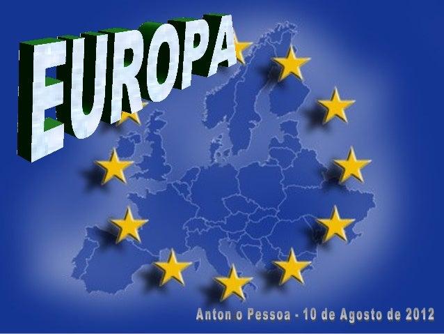 • Países que anteriormentePaíses que anteriormente classificamos como parte da Europaclassificamos como parte da Europa oc...