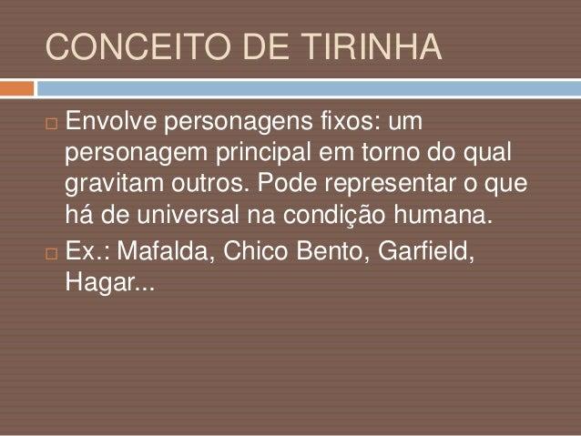 EXEMPLO DE TIRINHA