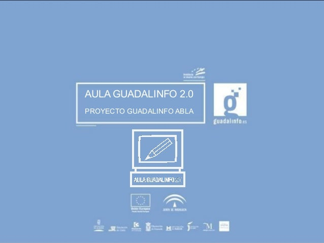 AULA GUADALINFO 2.0  PROYECTO GUADALINFO ABLA  TRADEGOTHIC  36