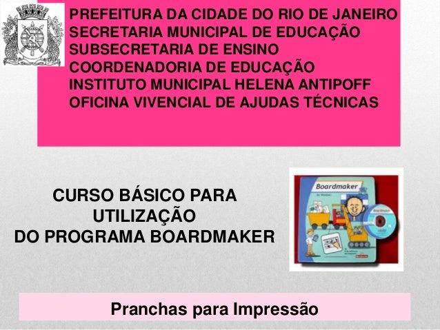 PREFEITURA DA CIDADE DO RIO DE JANEIRO  SECRETARIA MUNICIPAL DE EDUCAÇÃO  SUBSECRETARIA DE ENSINO  COORDENADORIA DE EDUCAÇ...