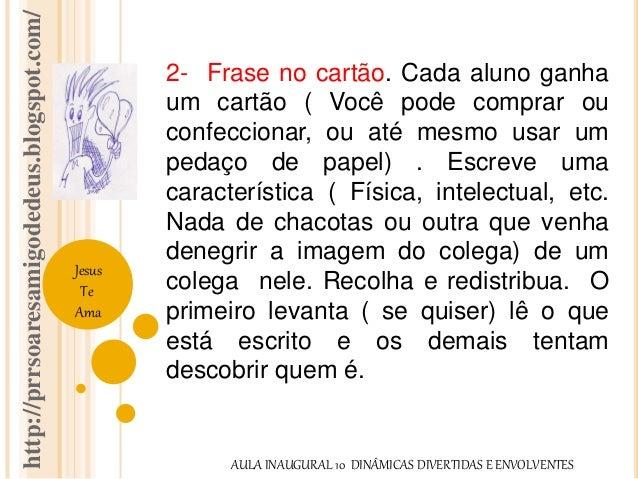 http://prrsoaresamigodedeus.blogspot.com/  Jesus  Te  Ama  2- Frase no cartão. Cada aluno ganha  um cartão ( Você pode com...