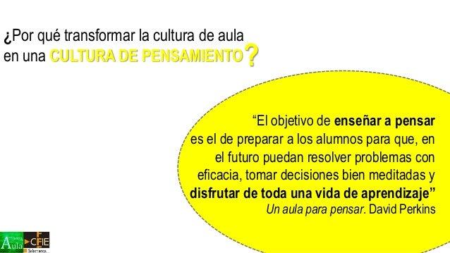 Cultura de Pensamiento  Slide 3