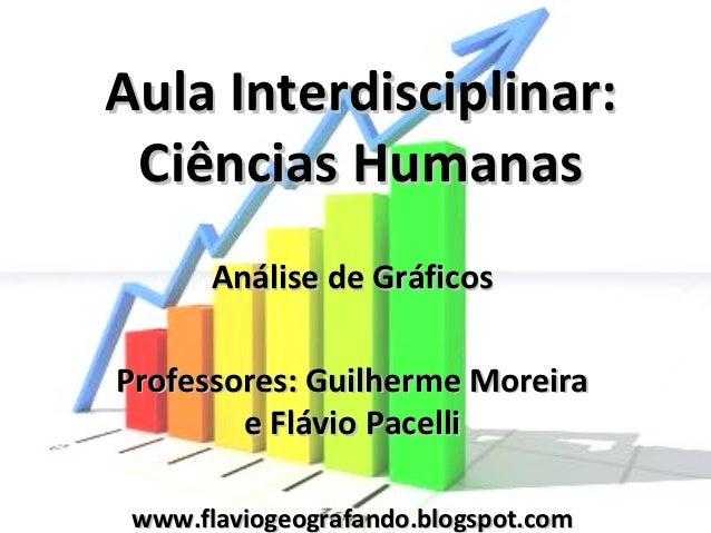 Aula Interdisciplinar: Ciências Humanas       Análise de GráficosProfessores: Guilherme Moreira        e Flávio Pacelli ww...