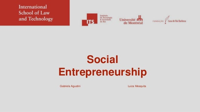 Luiza Mesquita Social Entrepreneurship Gabriela Agustini