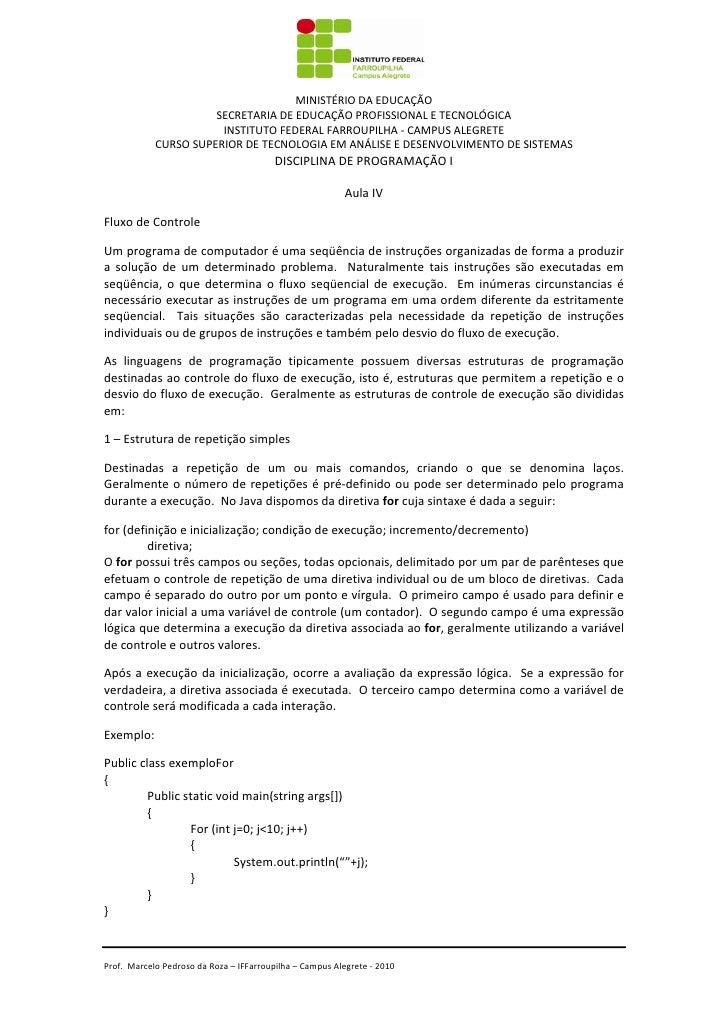 MINISTÉRIODAEDUCAÇÃO                      SECRETARIADEEDUCAÇÃOPROFISSIONALE...