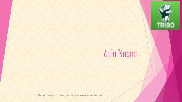Aula Magna Cláudia Ascenso blog.coisasdemaetempointeiro.com