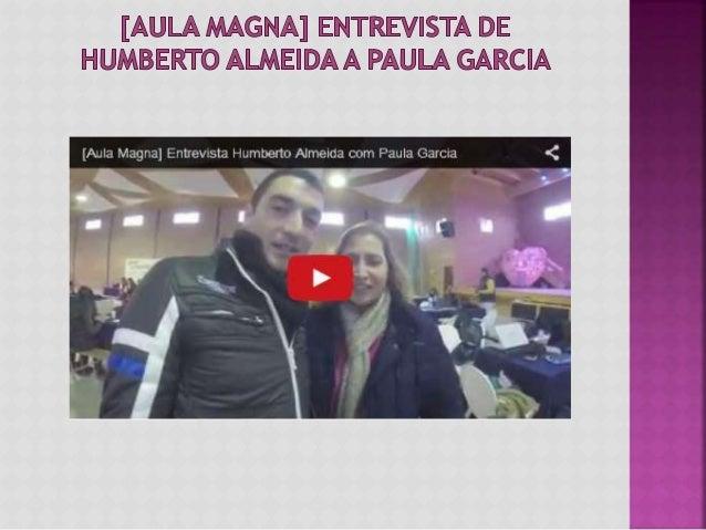 Nesta entrevista concedida ao Humberto Almeida falámos sobre a Aula Magna da Universidade da Tribo e também sobre os meus ...