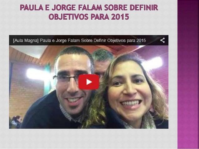 Neste vídeo feito na 2ª edição da Aula Magna da Universidade da Tribo, falámos sobre fazer a avaliação do ano passado e de...