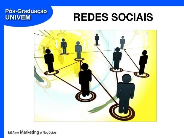 REDES SOCIAIS<br />