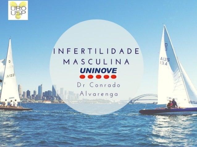 Infertilidade Masculina 2015 – UNI9 Conrado Alvarenga Hospital das Clínicas da FMUSP Responsável Andrologia Clinica Vida B...