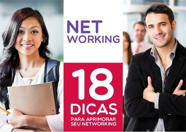 NET  WORKING  DICAS  PARA APRIMORAR  SEU NETWORKING  18