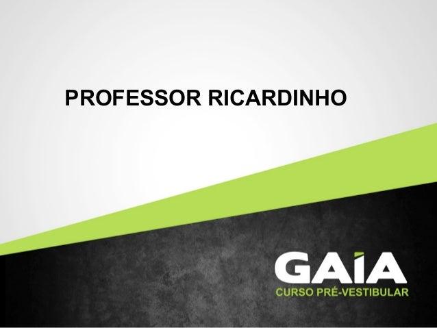 PROFESSOR RICARDINHO