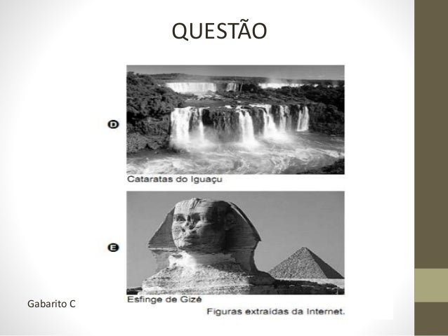 No ENEM, foi assim... As ruínas do povoado de Canudos, no sertão norte da Bahia, além de significativas para a identidade ...
