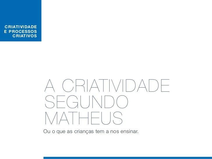 O MATHEUS