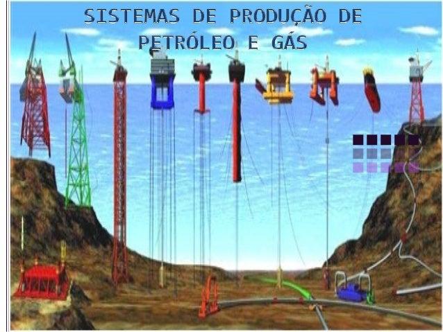  Conjunto de equipamentos utilizados para a prospecção e exploração marinha de petróleo.  Compreende quatro grupos básic...