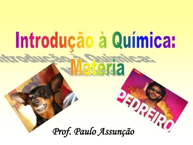 Prof. Paulo Assunção