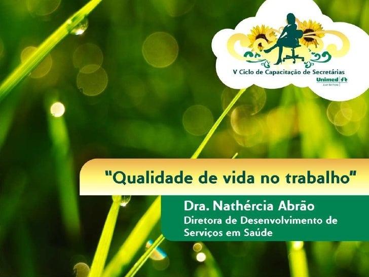 Dra. Nathércia Abrão