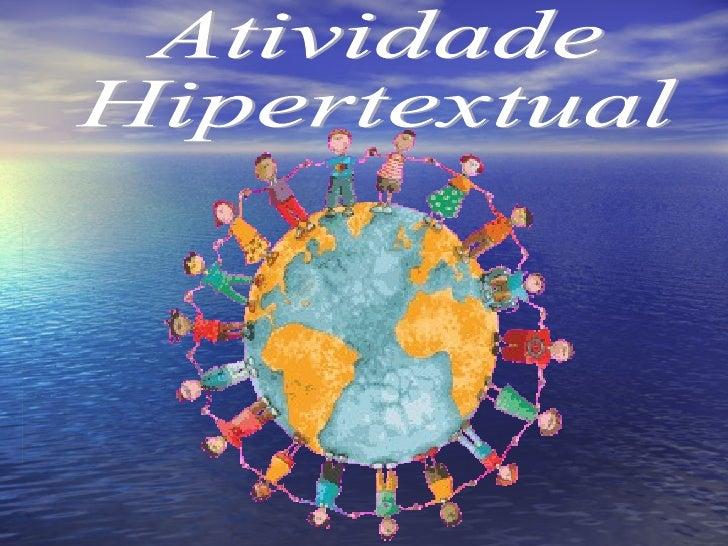 Atividade  Hipertextual