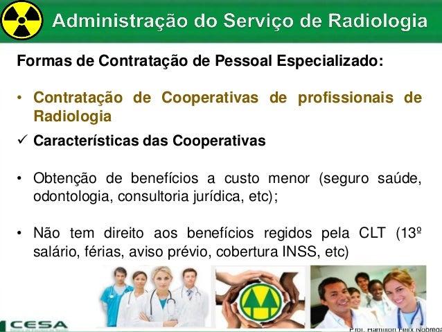 No es de administra o aplicadas a radiologia for R 1 regulamento interno e dos servicos gerais risg