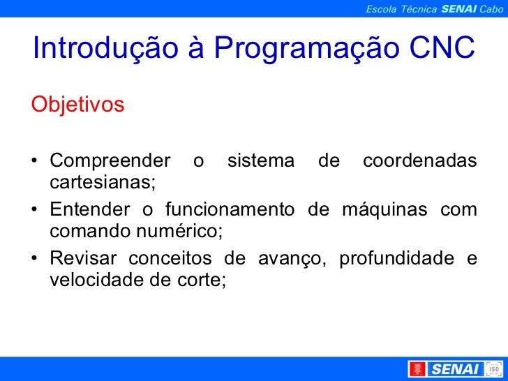 Introdução a CNC Slide 2