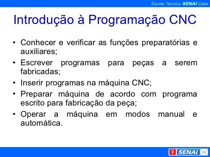 Introdução a CNC Slide 3