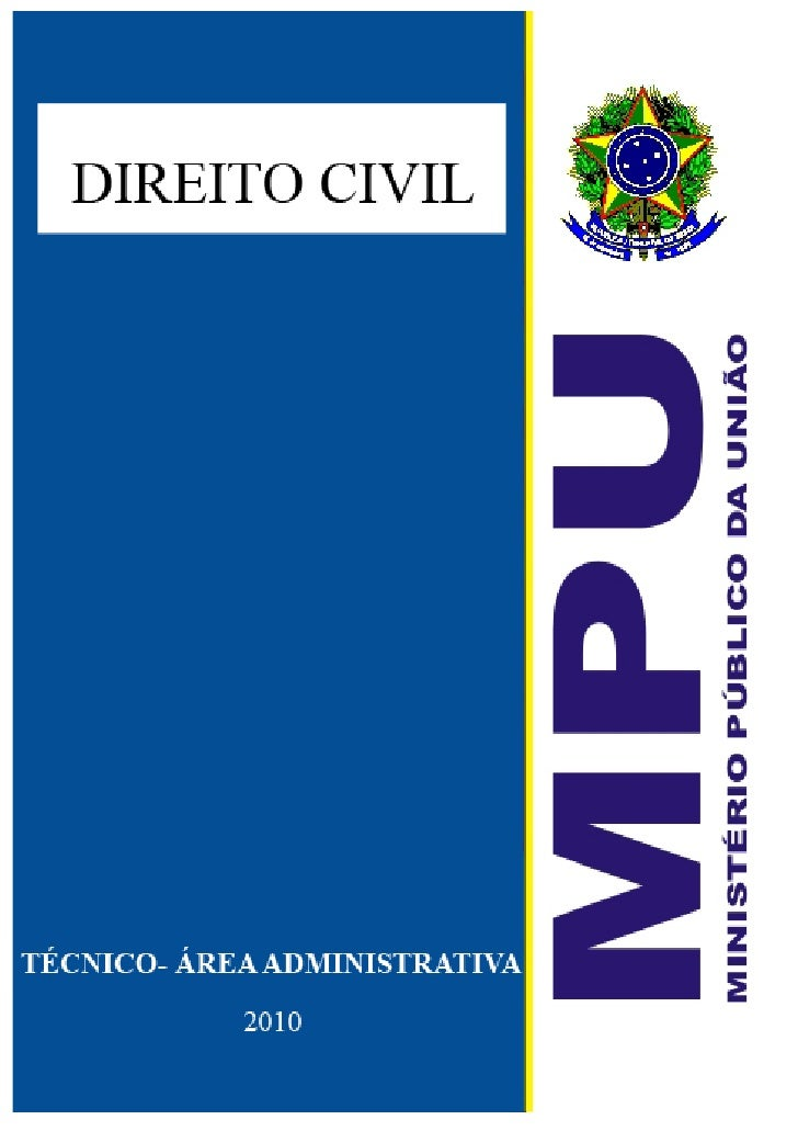 Aulas de Direito Civil Concurso MPU 2010