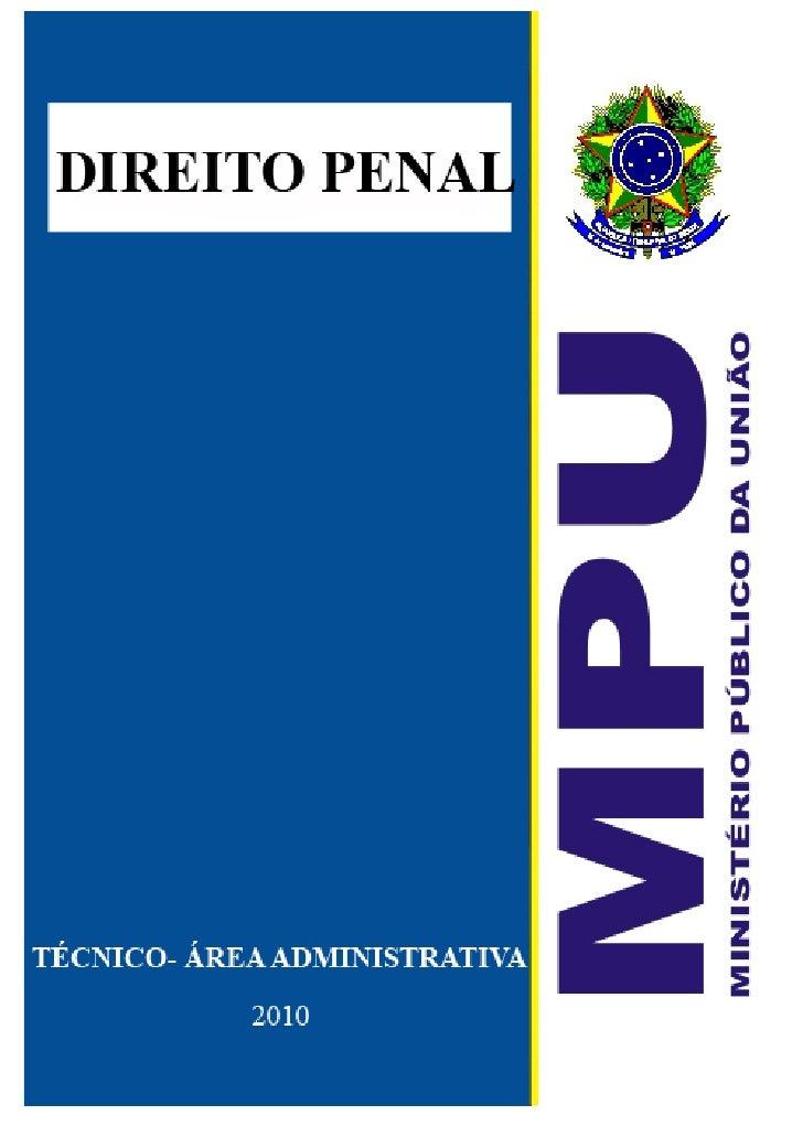 Aulas de Direito Penal Para MPU 2010