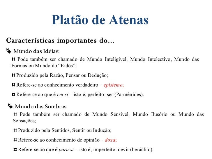 Ideias De Platão ~ Aulas de filosofia plat u00e3o