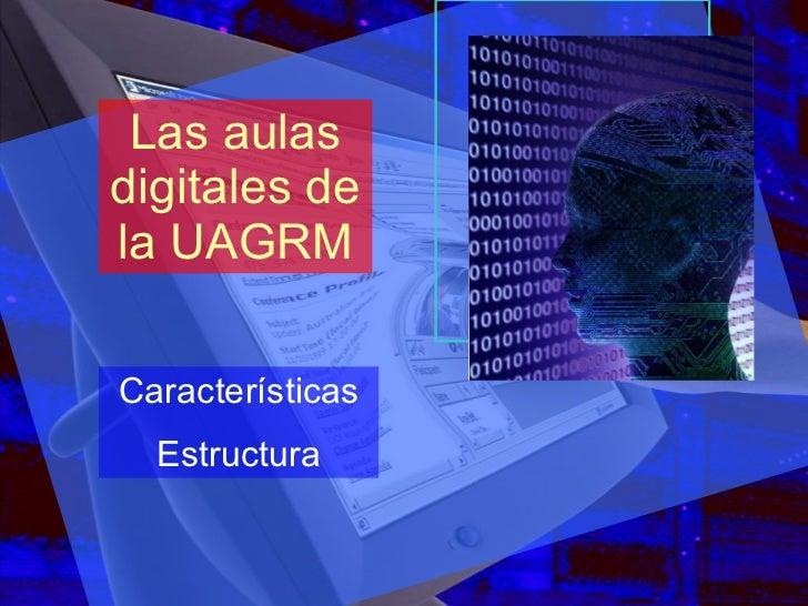 Las aulas digitales de la UAGRM Características Estructura
