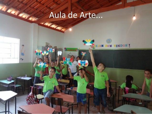 Aula de Arte...