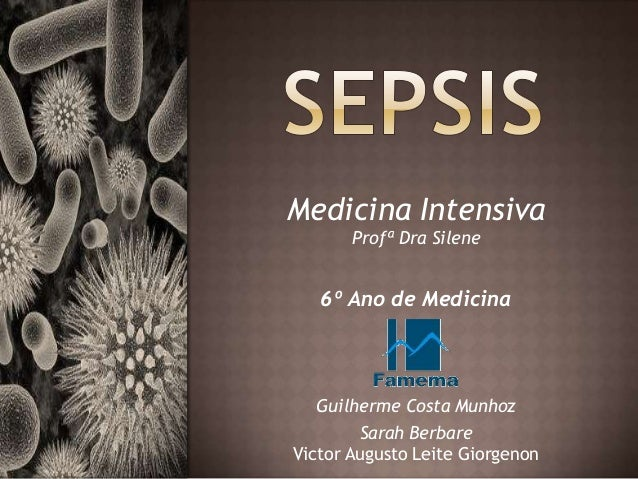 Medicina Intensiva Profª Dra Silene 6º Ano de Medicina Guilherme Costa Munhoz Sarah Berbare Victor Augusto Leite Giorgenon