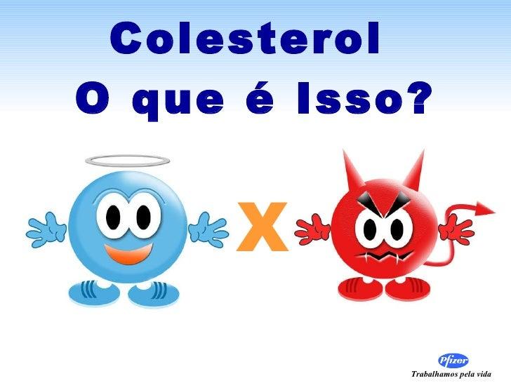 Colesterol  O que é Isso? X